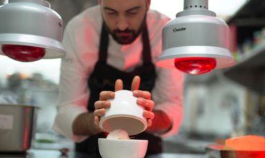 Gian Marco Carli, classe 1988, chef-patron de Il Principe a Pompei. Propone una cucina giovane, fresca, divertente nonostante i richiami filologici ai piatti dell'Antica Roma