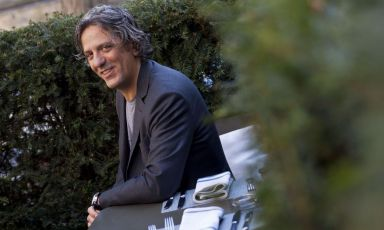 Giorgio Locatelli, born in Vergiate (Varese) in 1963. In 2002 he opened Locanda Locatelli in London with his wifePlaxy. The following year he was awarded with one star (photo Getty Images).To register for IDENTITA' ON THE ROAD, click here(for info:iscrizioni@identitagolose.itorcall +390248011841, ext. 2215)