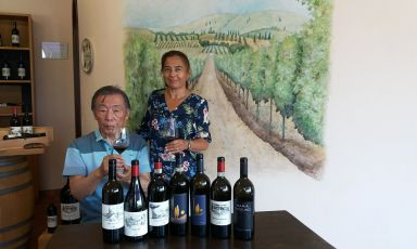 Bulichella, dal Giappone la passione per sughere, olivi e viti