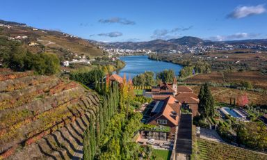 The Douro Valley during the wine-making season, what with excellent food and tastings of Porto