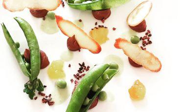 Il cioccolato, le arance, i piselli: il piatto del 2021 di Maurizio Raselli
