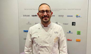 Davide Di Fabio, 36 anni, chef del ristorante Dalla Gioconda a Gabicce Mare(Pesaro Urbino)