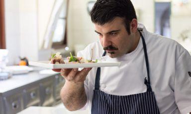 Maurizio D'Andretta, chef da febbraio 2017 del Q33 al Tenimento al Castello di Sillavengo (Novara)