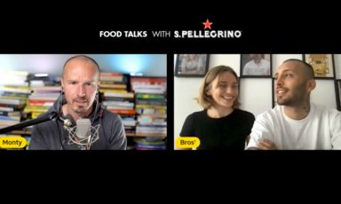 Al terzo giorno di Food Talksdi S.Pellegrino, l'appuntamentodiMarco Montemagno è con Isabella Potì e Floriano Pellegrino, compagni di vita e anime della cucina del ristoranteBros' di Lecce (1Stella Michelin)