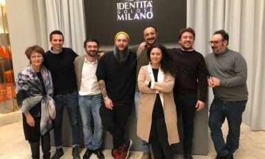 Da sinistra a destra, Fiorella Visconti eDaniele