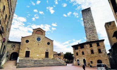 Una suggestiva immagine di San Gimignano