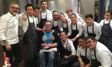 Fattore Umano: l'accoglienza vista da chi è sulla sedia a rotelle