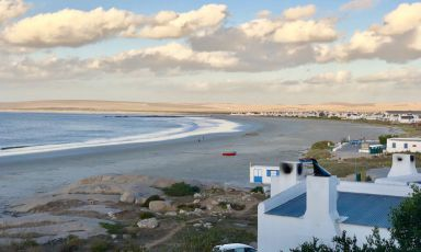 The view from restaurantWolfgatin Paternoster,