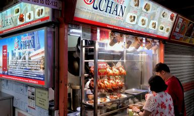 We visited the cheapest starred restaurant in the world, Hawker Chan
