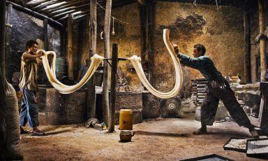 Cibo, uomini, culture: la mostra del grande fotografo Steve McCurry