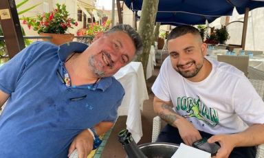 Pasquale Torrente insieme asuo figlio Gaetano