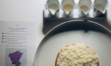 Il risotto ai quattro formaggi dell'oltrepò pavese: il piatto del 2021 di Federico Sgorbini