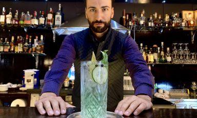 Il Gin Tonic al basilico di Jack Prisco: twist all'ombra del Vesuvio