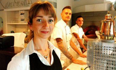 La bella storia di Kristina Lapo, dalla Lituania alla pizza della Kambusa