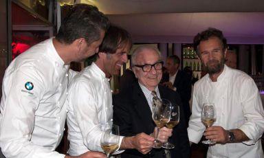 Il Maestro e gli allievi: Oldani, Cracco, Lopriore, Crippa, Canzian...
