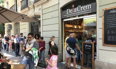 Delacrem, il gelato artigianale italiano che ha conquistato Barcellona