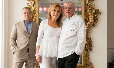 Protagonisti al congresso: Livia, Alfonso e Mario Iaccarino