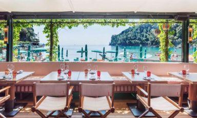 Uno scorcio del ristoranteLangosteriaa Paraggi (Genova)