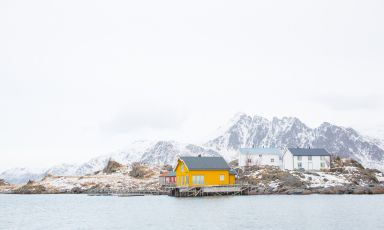 The Lofoten Islands are not just a magic place, characterised by intense and romantic landscapes. They are also Norway's most important area for the catch of codfish, Norway being only second to China, in terms of volumes of catch