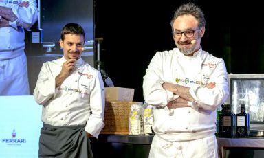 Gianluca Gorini e Paolo Loprioresul palco di Ide