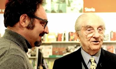 Paolo Lopriore andGualtiero Marchesi