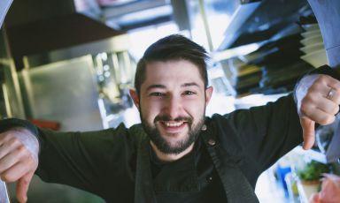 Lorenzo Romano, chef diInsolita Trattoria Tre Soldi, Firenze. In questi giorni ilristorante èaperto a pranzo da venerdì a domenica e dal lunedì al giovedìsu prenotazione