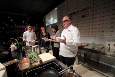 Tony Mantuano è giunto da Chicago a ricordarci l'importanza del vero made in Italy anche in campo agroalimentare. E' lo chef preferito da Obama
