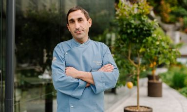 Massimiliano Blasone, frusinate classe 1976, è il nuovo chef de L'Aria, il ristorante gourmet del Mandarin Oriental - Lago di Como a Blevio
