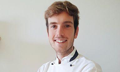 Paolo Mautino, sous-chef del ristoranteNove Giorgio Servettodi Alassio (Savona)