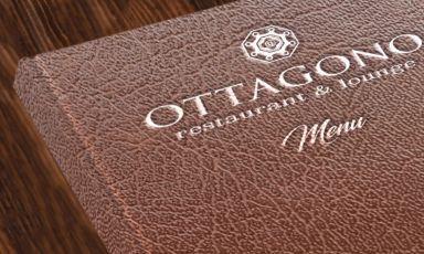 Il menu del ristorante Ottagono, buona cucina con splendida vista sulla Galleria Vittorio Emanuele di Milano