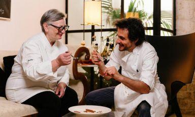 La cucina del Pashà di Conversano a Identità Golose Milano