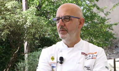 Franco Pepe, born in 1963, from Caiazzo, Caserta. He opened Pepe in Grani in 2012, to rapid and universal acclaim. You can follow his masterclass at Identità on the road by registering on Identità on the road