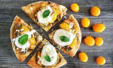 Parmigiana Rap, la pizza dell'estate del Magma all'ombra del Vesuvio