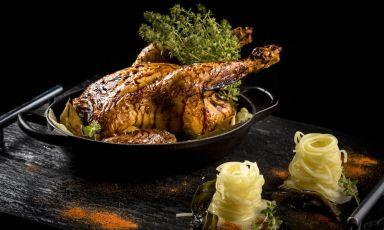 Il pollo in due culture