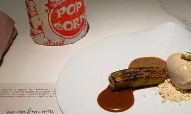 Popcorn from Mars: la ricetta di Federico Rottigni. Era parte del menuFirst, Dessert Bar 2020