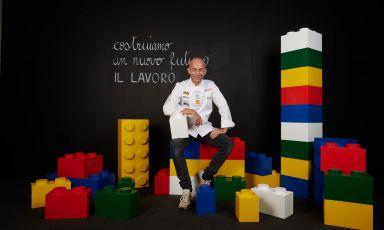 Riccardo CamaniniatIdentità Milano 2021. All photos from Brambilla-Serrani