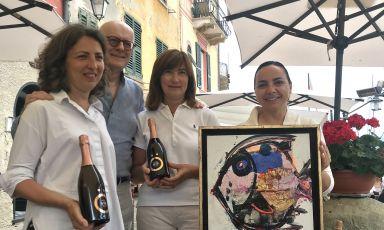 Il senso di Massucco per lo champagne. Presto un polo di degustazione, intanto firma due special edition a Portofino