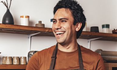 Santiago Lastra Rodriguez, from Mexico City, with experience in the great Nordic and Basque cuisine. He's about to open Kol in London, early in 2020 (photo Haydon Perrior)