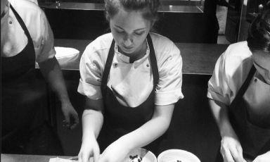 Marchigiana di Macerata, Jessica Natali è chef de partie delNomadi Copenhagen, ristorante in cui è entrata in stage nell'inverno 2012/13