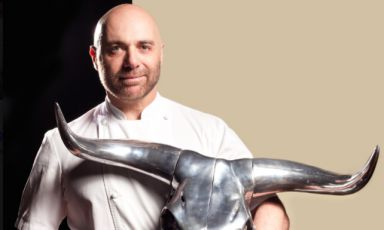 Germán Martitegui,chef at restaurant Teguiin Buenos Aires, the unquestioned number one of Argentinian fine dining