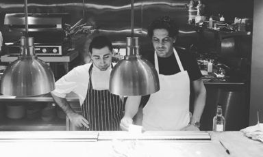 Francesco Mazzei: succeeding in London