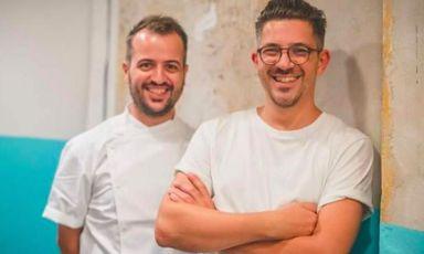 I fratelli Matteo e Salvatore Aloe, 31 e 38 anni, fondatori diBerberè, pizzeriea Castel Maggiore, Bologna, Torino, Roma, Firenze, Milano e Londra(foto Instagram/Berberè)