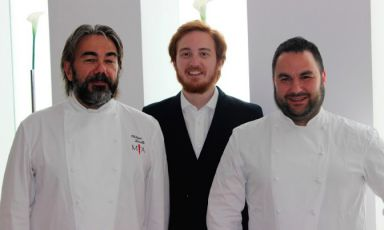 Metti una sera a cena coi piatti di Gualtiero Marchesi e Paul Bocuse