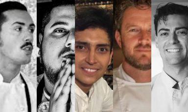 Enrico Marmo, Stelios Sakalis, Juan Camilo Quintero, Andrea Mattei, Diego Poli