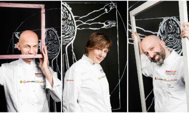 Camanini, Klugmann, Romito: il cibo diventa arte
