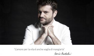 La schermata iniziale del sito di Enrico Bartolini, lo chef italiano con otto stelle, tre al Mudec di Milano