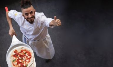 Fabrizio Mancinetti, from England, a new face for contemporary pizza