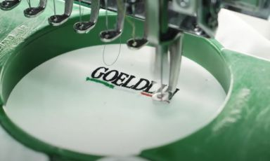 Goeldlin: dalle giacche da chef alle mascherine. E lavora a pieno ritmo