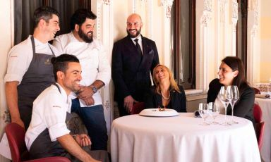 Massimo Raugi che scalpita: al Villa Crespi la mise en place è già pronta...