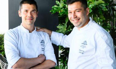 Il nuovo menu dei fratelli Lebano al Gallia: il richiamo della terra e del mare per accogliere l'estate a Milano